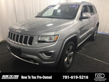 2015 Jeep Grand Cherokee 4WD 4DR OVERLAND Norwood MA