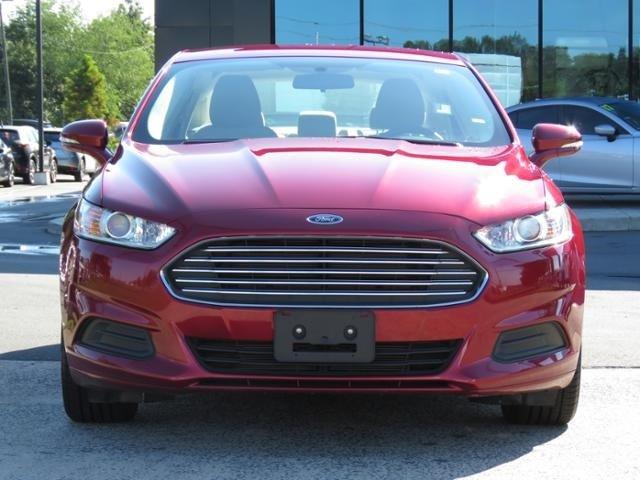 2016 Ford Fusion SE Slide