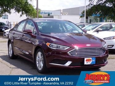 2018 Ford Fusion Hybrid SE  VA