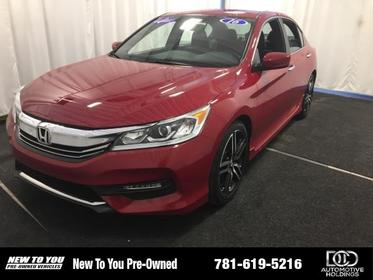 2016 Honda Accord 4DR I4 CVT SPORT Norwood MA