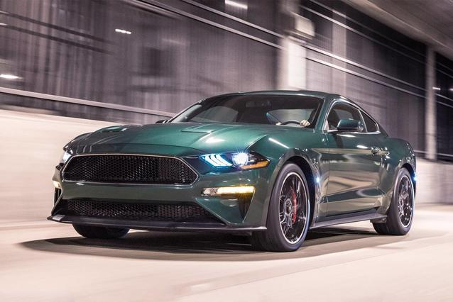 2019 Ford Mustang ECOBOOST PREMIUM 2D Convertible Slide 0