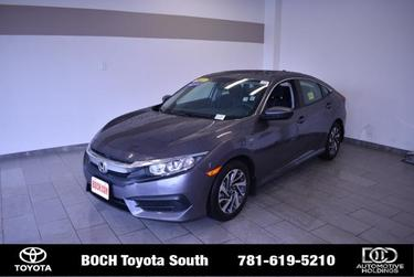 2017 Honda Civic Sedan EX 4dr Car North Attleboro MA