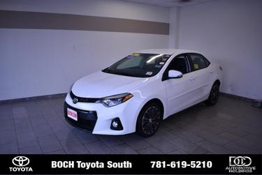 2015 Toyota Corolla S PLUS 4dr Car