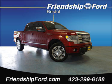 2013 Ford F-150 PLATINUM 4x4 Platinum 4dr SuperCrew Styleside 5.5 ft. SB Bristol TN