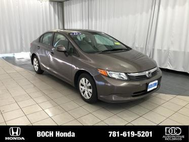 2012 Honda Civic 4DR AUTO LX Norwood MA