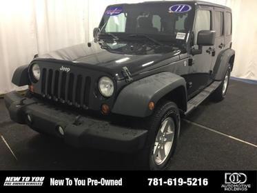 2011 Jeep Wrangler Unlimited 4WD 4DR SPORT Norwood MA