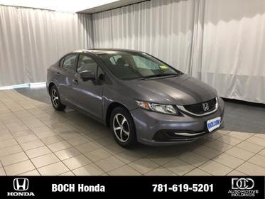 2015 Honda Civic 4DR CVT SE Norwood MA
