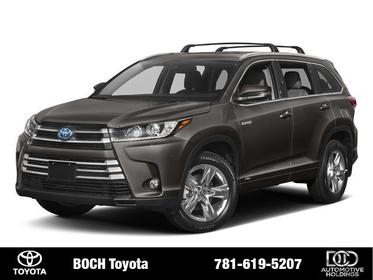 2018 Toyota Highlander HYBRID LIMITED PLATINUM V6 AWD Norwood MA
