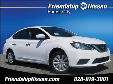 2018 Nissan Sentra S S 4dr Sedan CVT Forest City NC