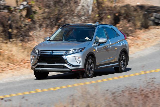 2019 Mitsubishi Eclipse Cross ES SUV Slide 0