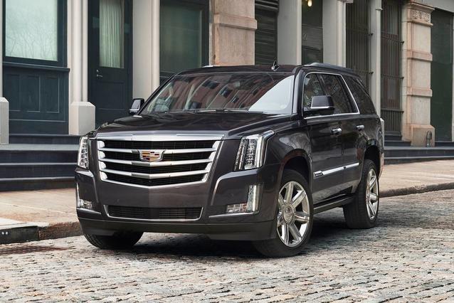 2019 Cadillac Escalade LUXURY Sport Utility Slide 0
