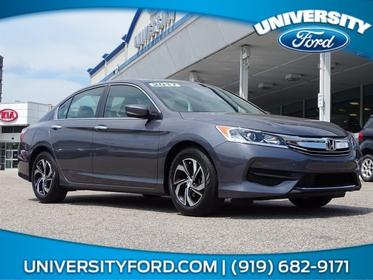2017 Honda Accord Sedan LX 4dr Car Greensboro NC