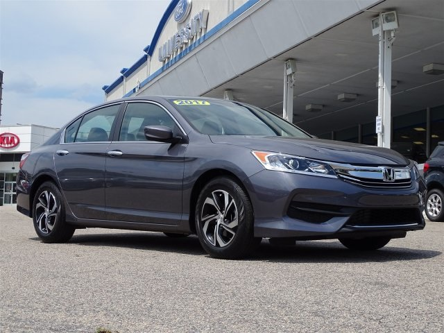 2017 Honda Accord Sedan LX 4dr Car Wilmington NC