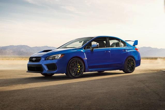 2019 Subaru WRX STI Sedan Slide 0