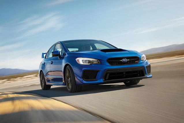 2019 Subaru WRX  4dr Car Slide 0