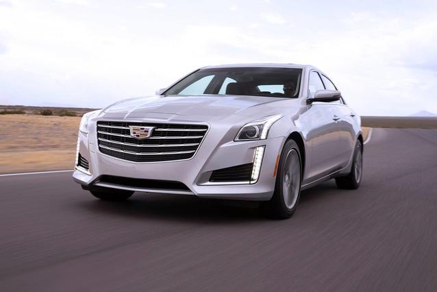 2019 Cadillac Cts Sedan LUXURY RWD 4dr Car Slide 0