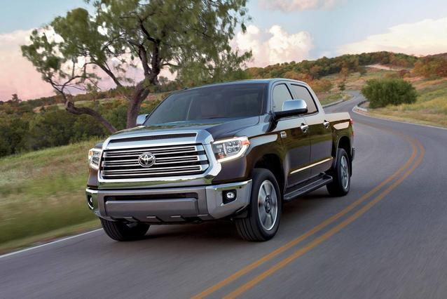 2019 Toyota Tundra 4Wd PLATINUM Short Bed Slide 0
