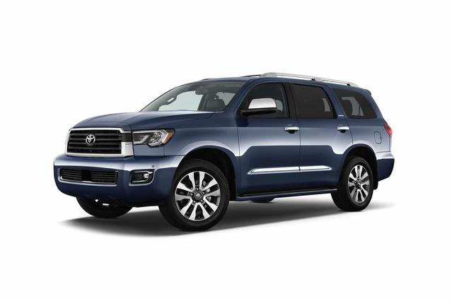 2019 Toyota Sequoia PLATINUM SUV Slide 0