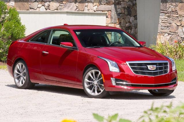 2017 Cadillac ATS Coupe LUXURY RWD 2dr Car Slide 0