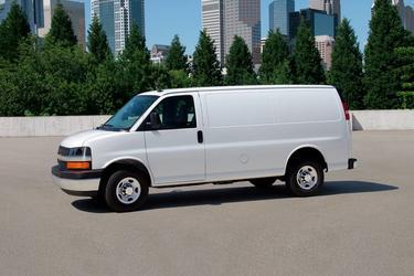 2018 Chevrolet Express Cargo Van RWD 2500 155 Van Slide