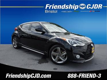 2014 Hyundai Veloster Turbo R-SPEC R-Spec 3dr Coupe 6M w/Red Seats Bristol TN