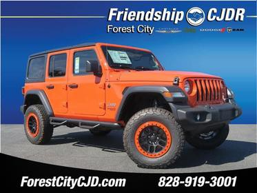 2018 Jeep Wrangler Unlimited UNLIMITED SPORT 4x4 Sport 4dr SUV (midyear release) Bristol TN