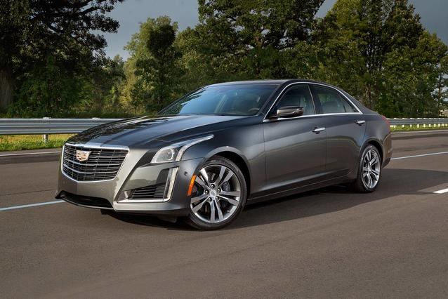 2019 Cadillac CTS Sedan LUXURY RWD 4dr Car Slide 0