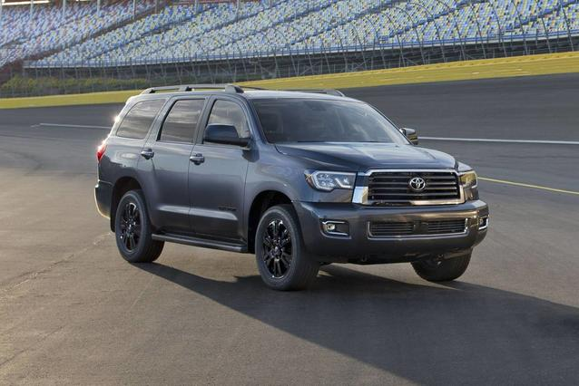 2019 Toyota Sequoia LIMITED LIMITED 4WD Sport Utility Slide 0