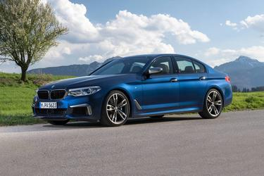 2019 BMW 5 Series 540I Sedan Slide