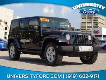 2012 Jeep Wrangler Unlimited SAHARA Sport Utility Greensboro NC
