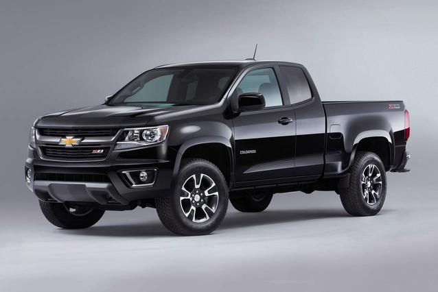 2019 Chevrolet Colorado 4WD WORK TRUCK Extended Cab Pickup Slide 0
