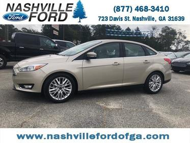 2017 Ford Focus TITANIUM 4D Sedan Nashville GA