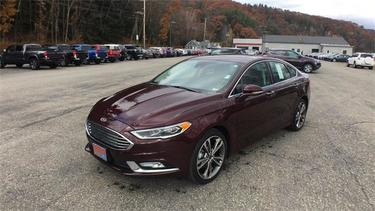 2017 Ford Fusion TITANIUM 4dr Car