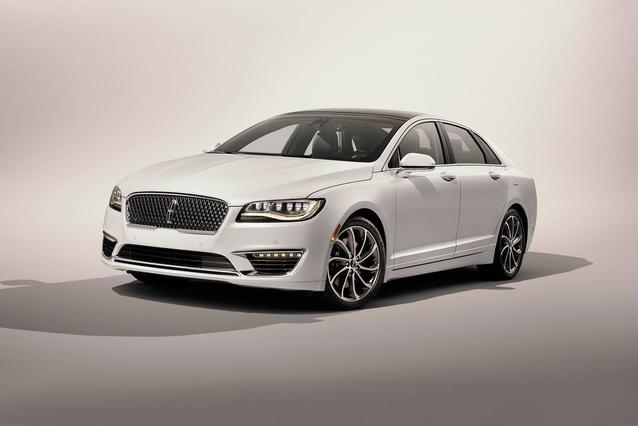 2019 Lincoln Mkz RESERVE 4D Sedan Slide 0