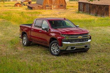 "2019 Chevrolet Silverado 1500 4WD DOUBLE CAB 147"" CUSTOM TRAIL BO Extended Cab Pickup  Concord NC"