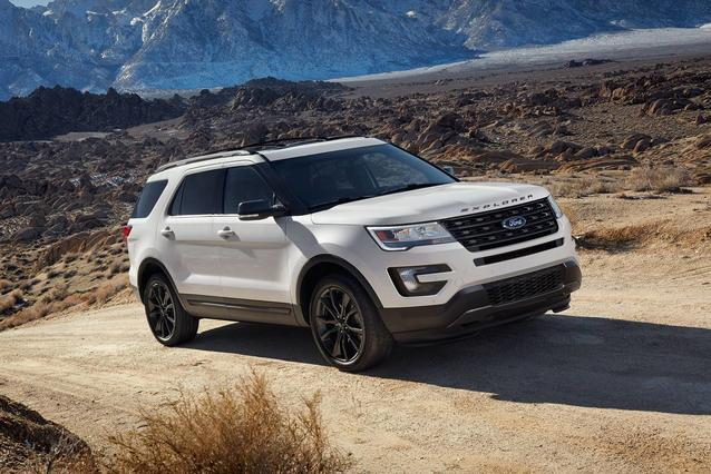 2019 Ford Explorer LIMITED Sport Utility Slide 0