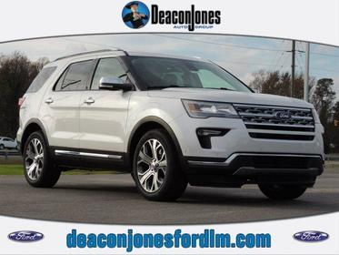 2019 Ford Explorer LIMITED FWD Goldsboro NC