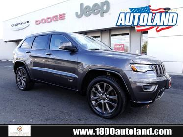 2016 Jeep Grand Cherokee LIMITED 75TH ANNIVERSARY Sport Utility Springfield NJ