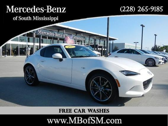 2017 Mazda Mazda MX-5 Miata RF GRAND TOURING 2dr Car Slide 0