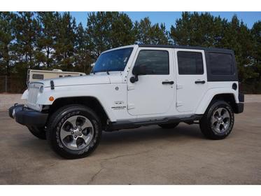 2017 Jeep Wrangler Unlimited SAHARA Sport Utility Auburn AL