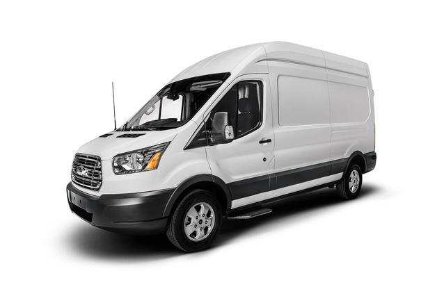 """2019 Ford Transit Van T-350 148"""" HI RF 9500 GVWR SLIDING RH DR Full-size Cargo Van Slide 0"""