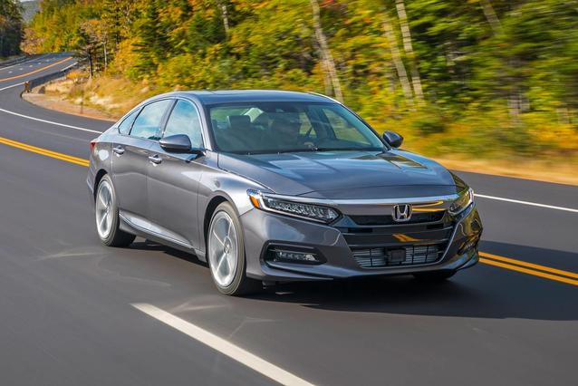 2019 Honda Accord Sedan LX 1.5T Slide 0