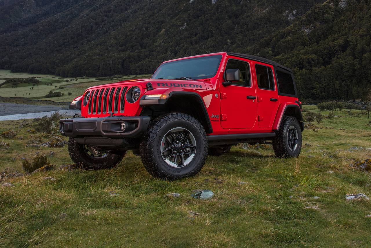 2019 Jeep Wrangler Unlimited RUBICON SUV Slide 0