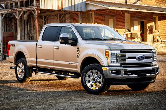 2017 Ford F-350SD LARIAT Crew Cab Pickup Slide 0