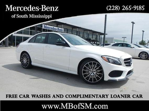 2018 Mercedes-Benz C-Class C 300 4dr Car Slide 0