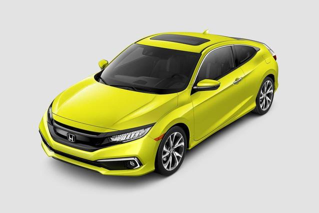2019 Honda Civic EX-L 4dr Car Slide 0
