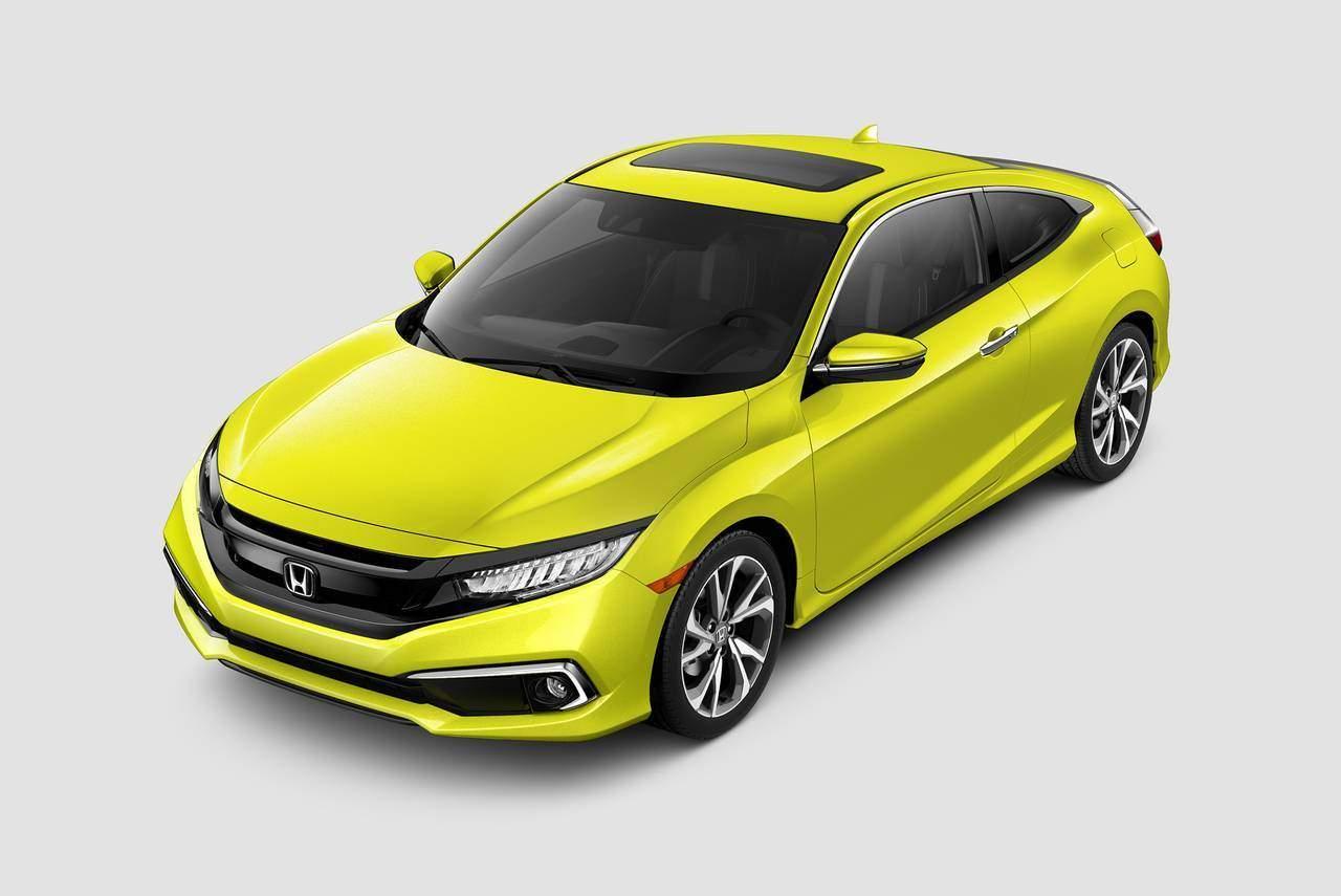 2019 Honda Civic EX-L 4dr Car Slide 0