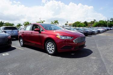 2018 Ford Fusion S Miami FL