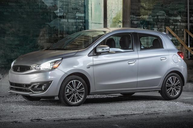 2019 Mitsubishi Mirage LE Hatchback Slide 0