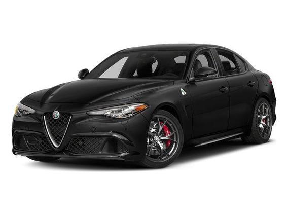 2017 Alfa Romeo Giulia Quadrifoglio RWD 4dr Car Slide 0